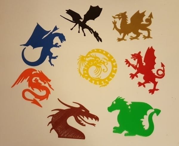 Medium Dragons for Everyone! 3D Printing 92096