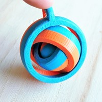 Small gyroscope  3D Printing 92214