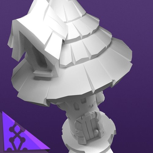 Elemental Village - Arcane Library 3D Print 92228
