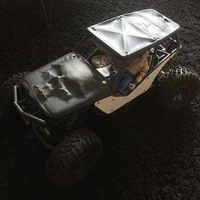 Small Soft Top for the Axial Wraith 3D Printing 92250