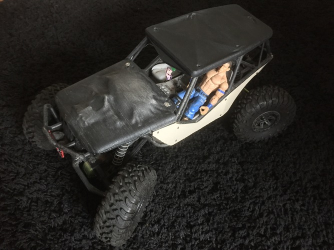 Soft Top for the Axial Wraith 3D Print 92256