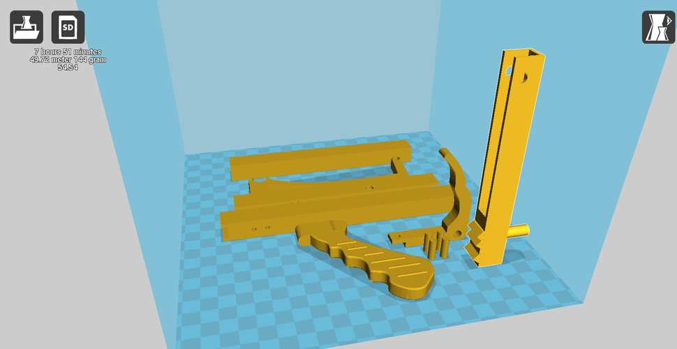 Extendable Grab 3D Print 92375