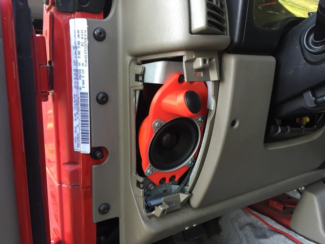 Jeep 4x6 adapter  3D Print 92380