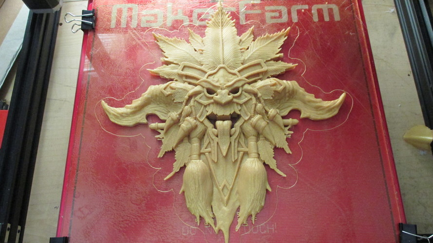Diablo- Witch Doctor- Crest 3D Print 92428