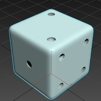 Small Dice 3D Printing 92437