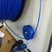 Small Ultimaker 2 filament guide 3D Printing 92440