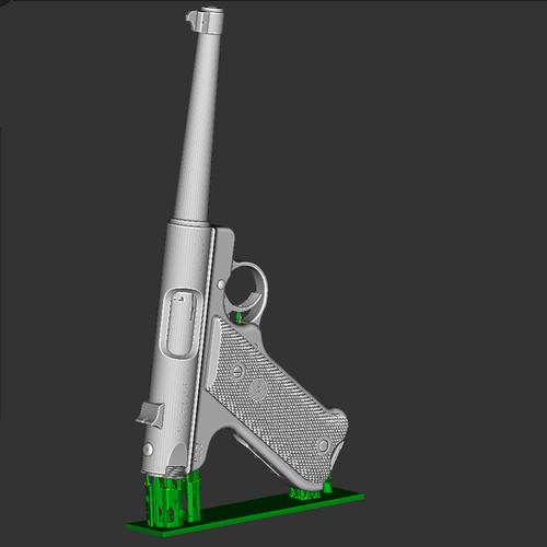Ruger mark III 3D Print 92446