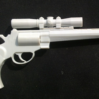 Small super gun 3D Printing 92453