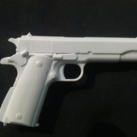 Small revolver M1911 3D Printing 92455