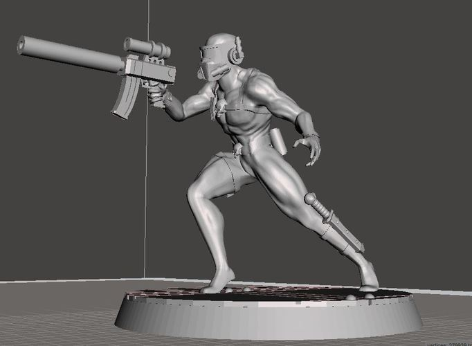 Assassin 28mm-32mm 3D Print 92456