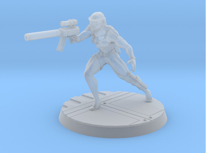 Assassin 28mm-32mm 3D Print 92457