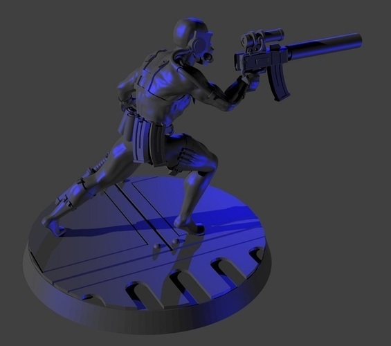 Assassin 28mm-32mm 3D Print 92459