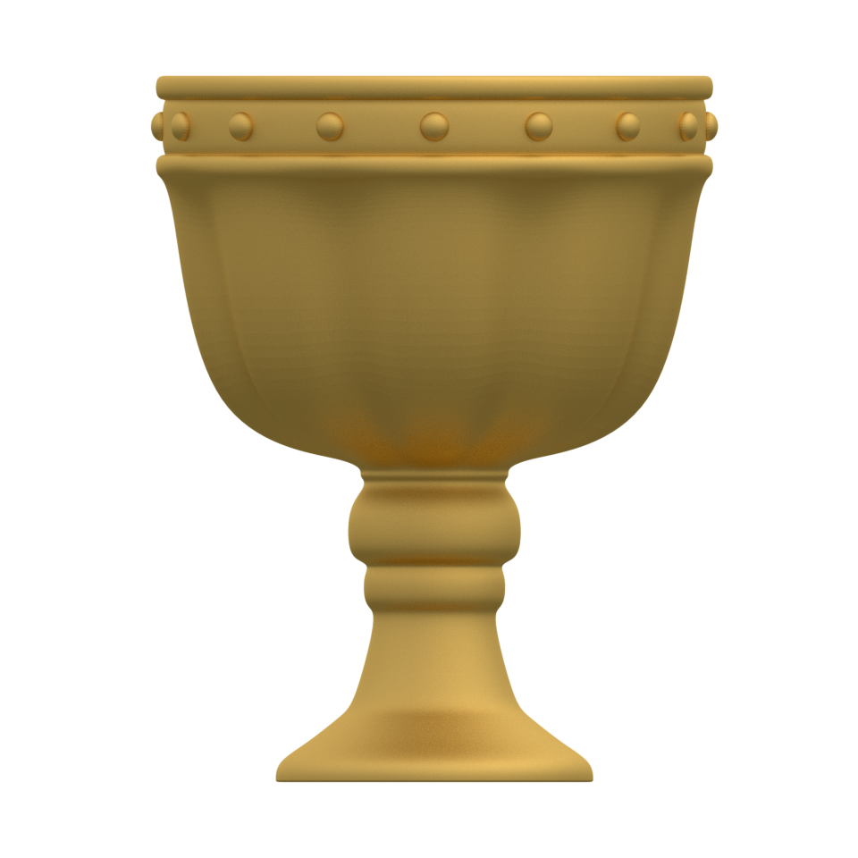 3d printed holy grail for monty python s spamalot by let s make