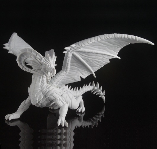 3D Printed Dragon By Imlab Pinshape