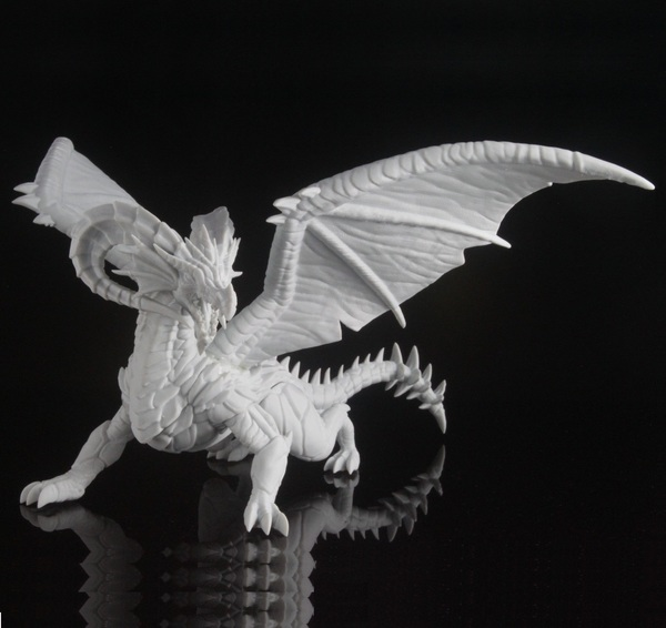 Medium Dragon 3D Printing 92697