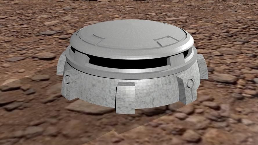 Sci-fi Bunker 28mm-32mm scale