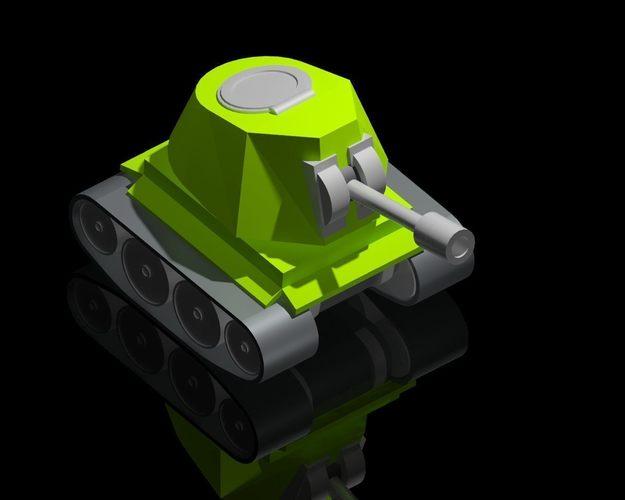3D Printed Cute Mini-Tank by milan stepanek   Pinshape