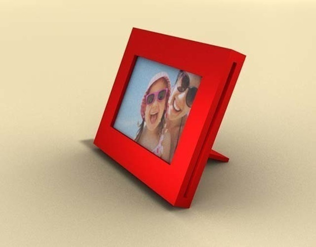 3d Printed Amora Design Picture Frame By Alexandre Victoria Pinshape