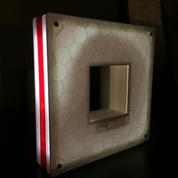 Small Amora Lamp Frame by Amora Design 3D Printing 92890