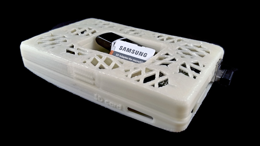 Pine 64 Snap Enclosure - Pinestyle! 3D Print 92910