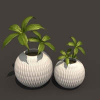 Small FLOWER POT 3D Printing 92951