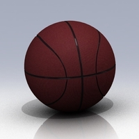 Small Basket Ball  www.antsdesigntm.com  ANTS 3D printer only US$200 3D Printing 92971