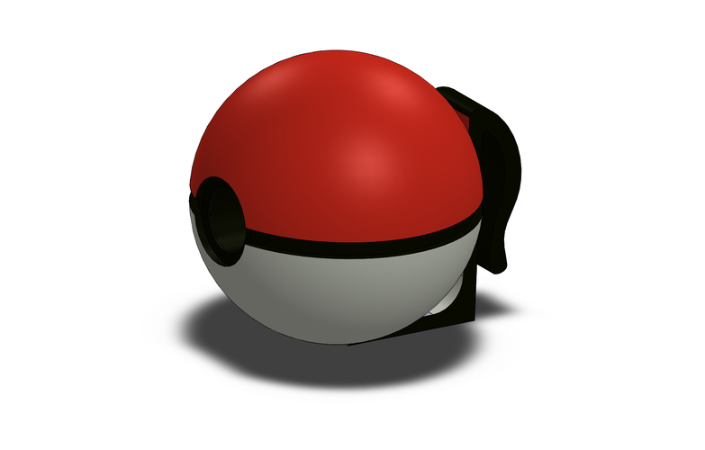 Pokeball USB Charger 3D Print 92975