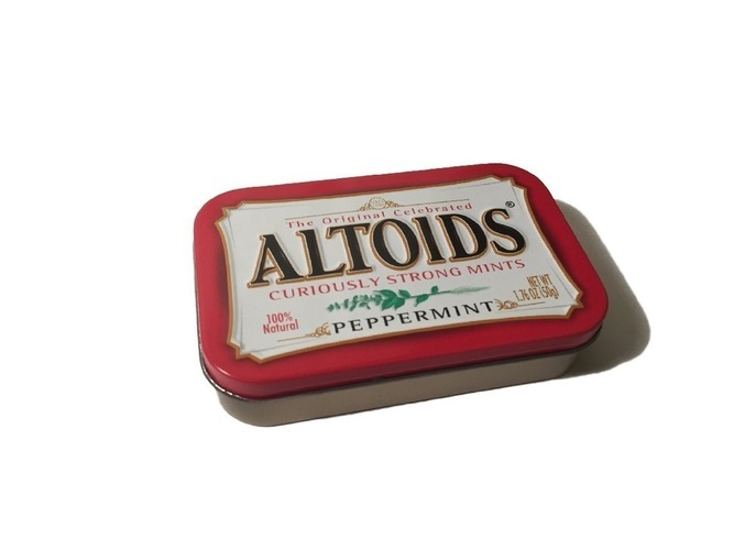 Altoids tin divider with magnet slots 3D Print 93012