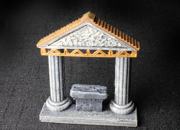 OpenForge Shrine 3D Print 93051