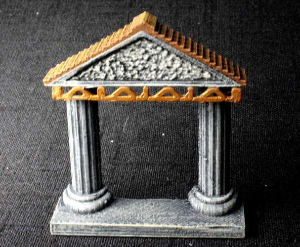OpenForge Shrine 3D Print 93052