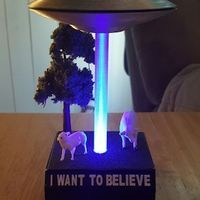 Small UFO - I Want To Believe 3D Printing 93110