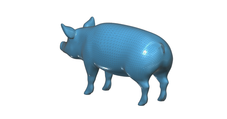 Figurine, toy, a  Pig 3D Print 93145