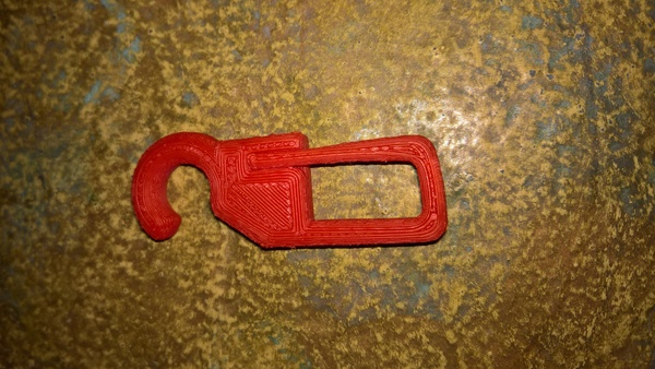 Medium Curtain hanger 3D Printing 93155
