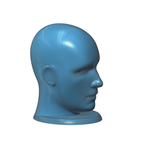 Small Figurine, bust, -  head on a stand 3D Printing 93159