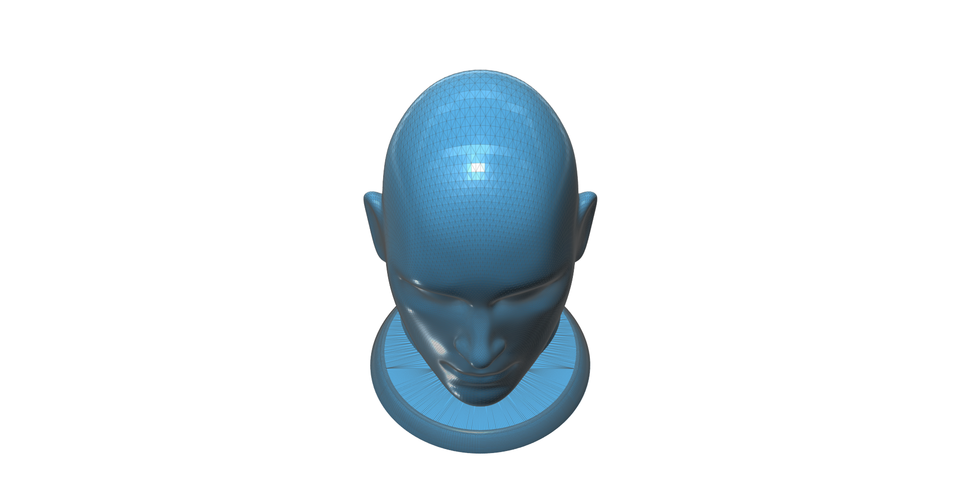 Figurine, bust, -  head on a stand 3D Print 93161