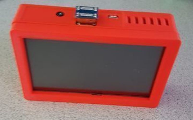 "Pi 3 Case for 5"" Touch screen 3D Print 93217"
