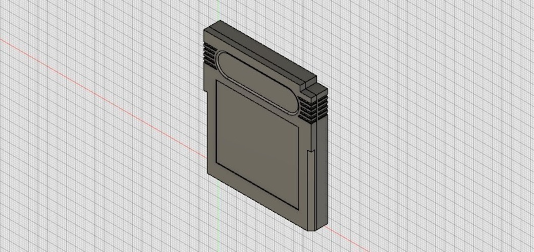 Game Boy Cartridge 3D Print 93237