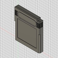 Small Game Boy Cartridge 3D Printing 93237