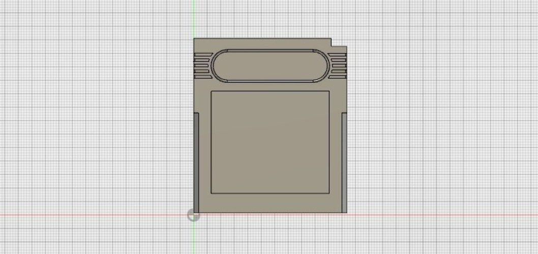 Game Boy Cartridge 3D Print 93238