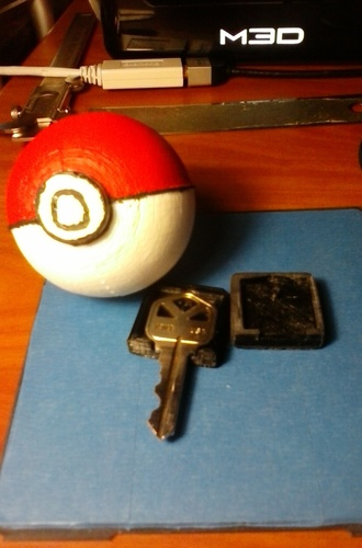 poKEYball Key Grip 3D Print 93261