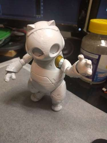 RoboKitty Ball joint remix 3D Print 93283