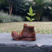Small Wall-e Mini Boot Vase 3dFactory Brasil 3D Printing 93319