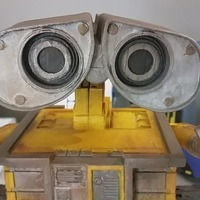 Small Wall-E Robot - Fully 3D Printed 3D Printing 93341