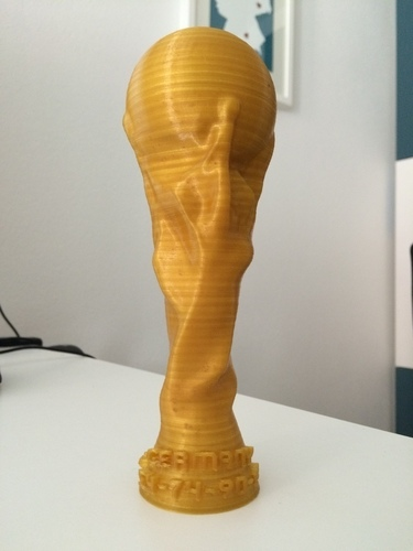 FIFA World Cup Trophy 2014 Germany edition (editable) 3D Print 93369
