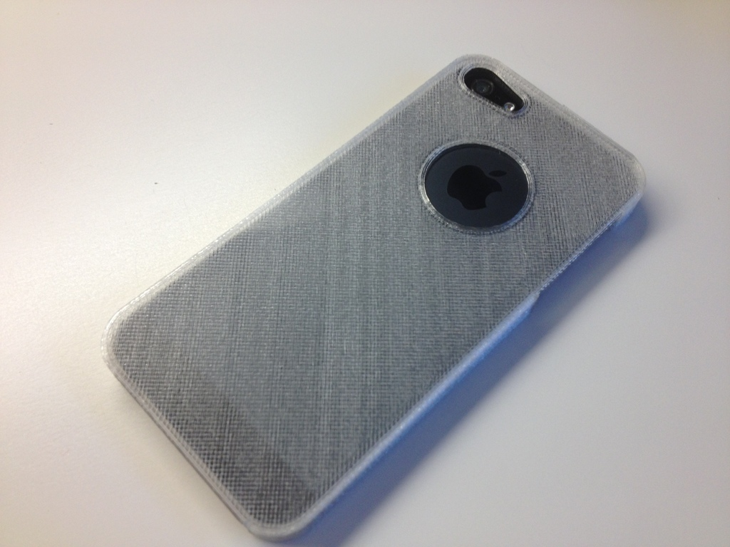 new style fd7ae 8fa40 3D Printed Slim iPhone SE Snap-On Case (tested) also iPhone 5 and 5S ...