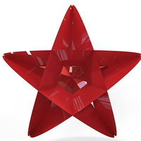 Small Star Christmas Tree Ornament (Small)         3D Printing 9339