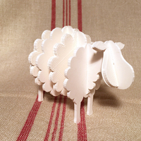 Small Sheep 3D Printing 93393