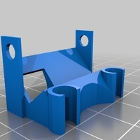 Small Shrieker HS1177 Camera Mount (aka love seat!) 3D Printing 93415