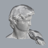 Small David_By_Michelangelo_Sculpture 3D Printing 93436