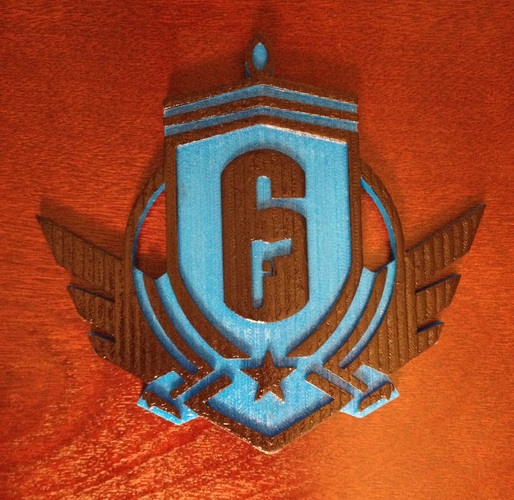 Rainbow Six Siege: Diamond Emblem  3D Print 93461